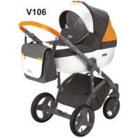 Універсальна коляска 2 в 1 Adamex Massimo Sport V106 (Адамекс Массімо)