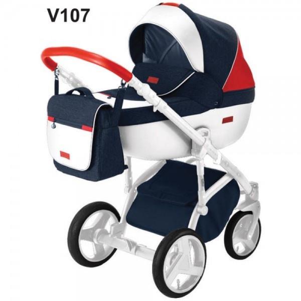 Універсальна коляска 2 в 1 Adamex Massimo Sport V107 (Адамекс Массімо)