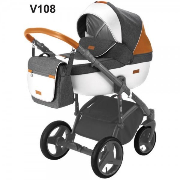 Універсальна коляска 2 в 1 Adamex Massimo Sport V108 (Адамекс Массімо)