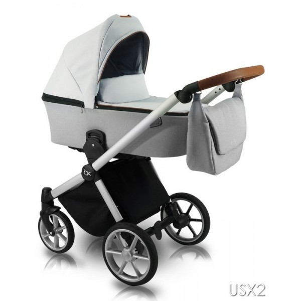 Універсальна коляска 2 в 1 Bexa Ultra Style X USX-2 (Бекса Ультра Стайл Ікс)