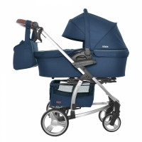 Коляска 2 в 1 Carrello Vista CRL-6501 Denim Blue (Каррелло Віста)