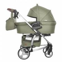 Коляска 2 в 1 Carrello Vista CRL-6501 Olive Green (Каррелло Віста)