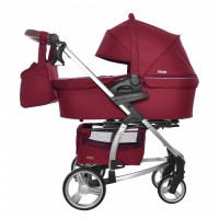 Коляска 2 в 1 Carrello Vista CRL-6501 Ruby Red (Каррелло Віста)