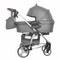 Коляска 2 в 1 Carrello Vista CRL-6501 Shark Gray (Каррелло Віста)