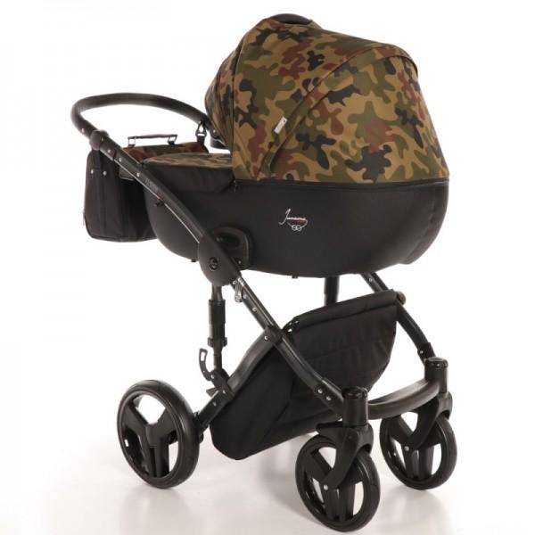 Універсальна коляска 2 в 1 Junama Fashion Pro Army (Юнама Фешин Про)