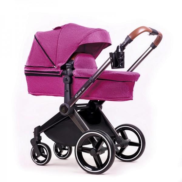 Універсальна коляска 2 в 1 NINOS Alba Purple (Нінос Альба)