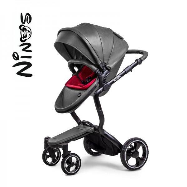 Дитяча коляска 2 в 1 NINO'S A88 Grey City (Нінос)