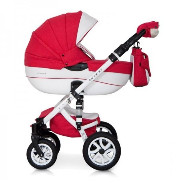 Універсальна коляска 2 в 1 Riko Brano Ecco Sport Red (Ріко Брано Екко)