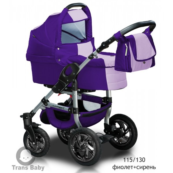 Універсальна коляска 2 в 1 Trans Baby Jumper 115/19 (Транс Бейбі Джампер)