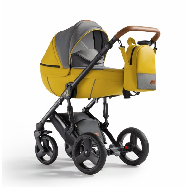 Універсальна коляска 2 в 1 Verdi Orion Yellow Lemon (Верді Оріон)
