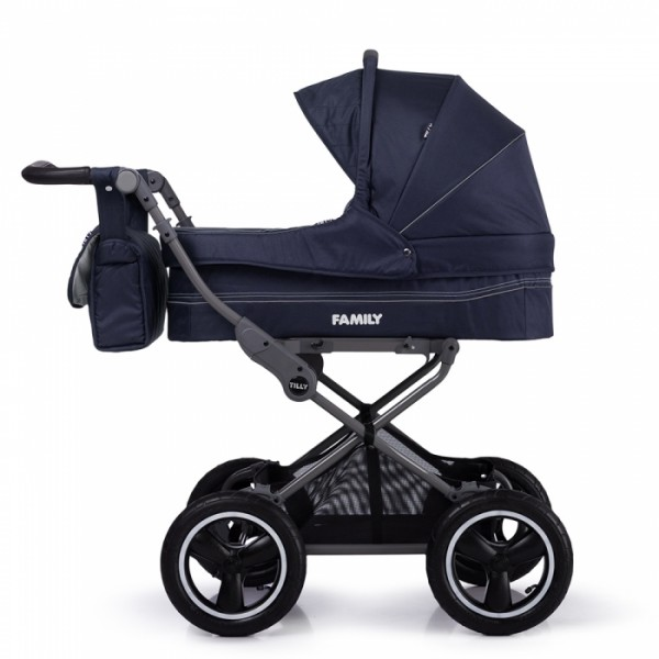 Класична коляска Tilly Family T-181 Blue (Тіллі Фемілі)