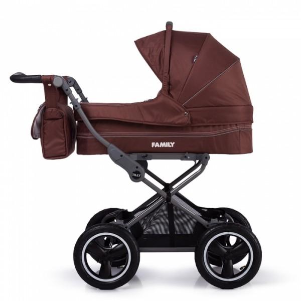 Класична коляска Tilly Family T-181 Brown (Тіллі Фемілі)