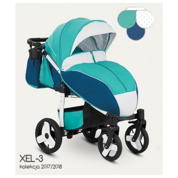 Прогулянкова коляска Camarelo Elf XEL-3 (Камарело Ельф)