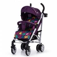 Прогулянкова коляска CARRELLO Allegro Kitty Purple в льоні (Каррелло Аллегро)