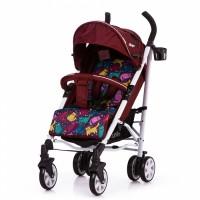 Прогулянкова коляска CARRELLO Allegro Kitty Red в льоні (Каррелло Аллегро)