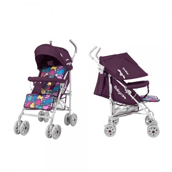 Прогулянкова коляска-тростина Babycare Rider Purple (Бейбікеа Райдер)