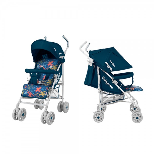Прогулянкова коляска-тростина Babycare Rider Blue (Бейбікеа Райдер)