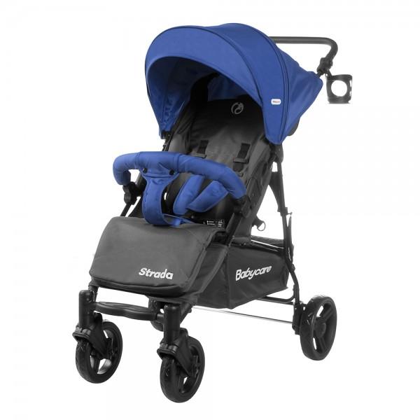 Прогулянкова коляска Babycare Strada Space Blue (Бебікеа Страда)