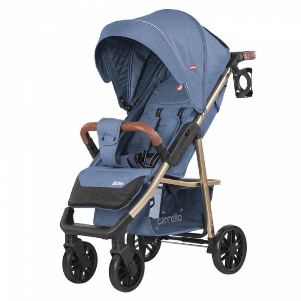 Прогулянкова коляска CARRELLO Echo CRL-8508/1 Azure Blue (Каррелло Еко)