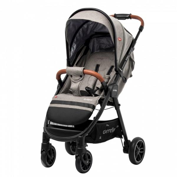 Прогулянкова коляска CARRELLO Eclipse CRL-12001/1 Cotton Beige (в льоні + дощовик) (Каррелло Екліпс)