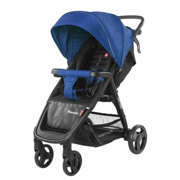 Прогулянкова коляска CARRELLO Maestro Orient Blue + дощовик (Каррелло Маестро)