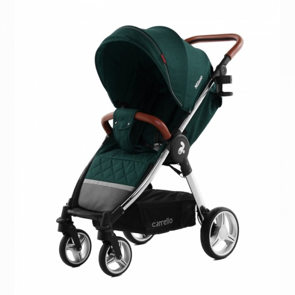 Прогулянкова коляска Carrello Milano CRL-5501 Aqua Green +дощовик (Каррелло Мілано)
