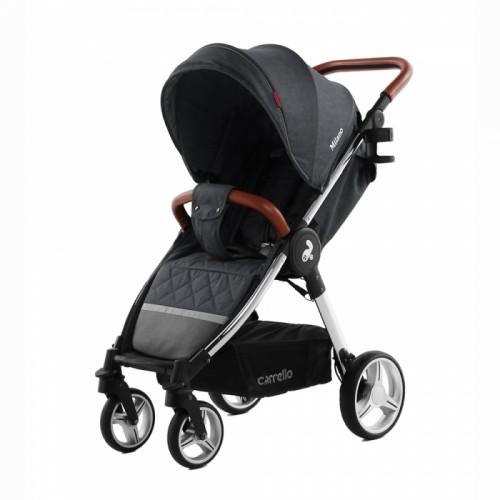Прогулочная коляска  CARRELLO Milano CRL-5501 Solid Grey + дождевик (Карелло Милано)