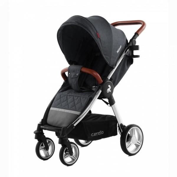 Прогулянкова коляска Carrello Milano CRL-5501 Solid Grey +дощовик (Каррелло Мілано)