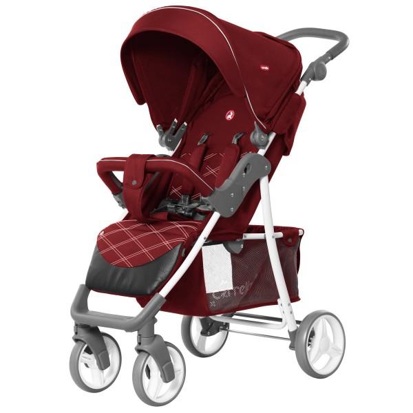 Прогулянкова коляска CARRELLO Quattro Cherry Red (+дощовик) (Каррелло Куаттро)
