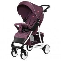 Прогулянкова коляска CARRELLO Quattro Lilac Purple (+дощовик) (Каррелло Куаттро)