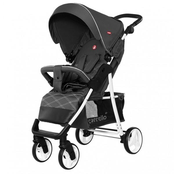 Прогулянкова коляска CARRELLO Quattro Metal Gray (+дощовик) (Каррелло Куаттро)