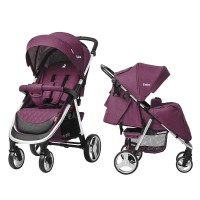 Прогулянкова коляска CARRELLO Unico CRL-8507 Lilac Purple + дощовик (Каррелло Уніко)