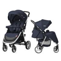 Прогулянкова коляска CARRELLO Unico CRL-8507 Azure Blue + дощовик (Каррелло Уніко)