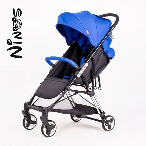 Прогулянкова коляска NINOS MINI Blue (Нінос Міні)