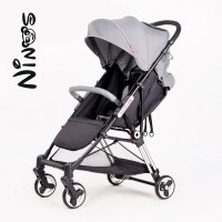 Прогулянкова коляска NINOS MINI Grey (Нінос Міні)