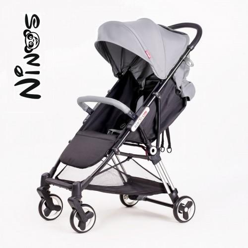 Прогулочная  коляска NINOS MINI grey (Нинос Мини)