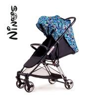 Прогулянкова коляска NINOS MINI Blue Jungle (Нінос Міні)