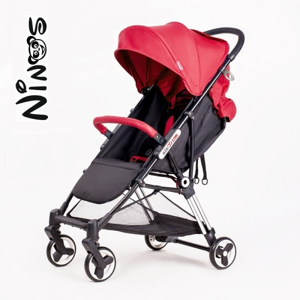 Прогулочная  коляска NINOS MINI red (Нинос Мини)