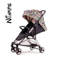 Прогулянкова коляска NINOS MINI Pink Jungle (Нінос Міні)