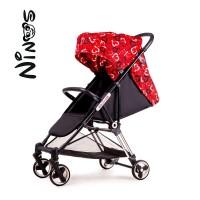 Прогулянкова коляска NINOS MINI Red Love (Нінос Міні)