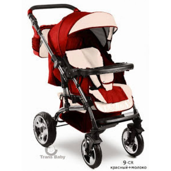 Прогулянкова коляска Trans Baby Viking 9/crem (Транс Бейбі Вікінг)