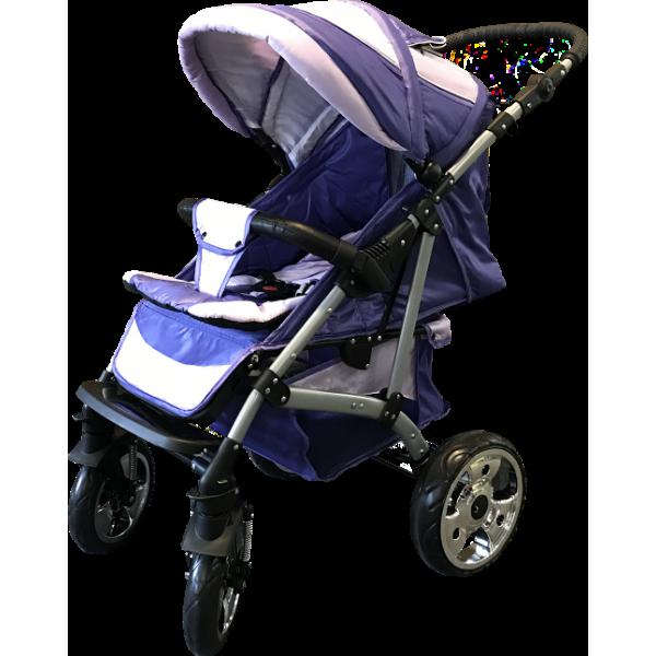 Прогулянкова коляска Trans Baby Walker Purple (Транс Бейбі Волкер)