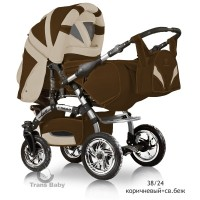 Коляска-трансформер Trans Baby  Prado Lux 38/24 (Транс Бейби Прадо Люкс 38/24 )