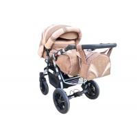 Коляска-трансформер Trans Baby Prado Lux Len Lux 03/Lux 24 (Транс Бейбі Прадо Люкс Льон)