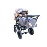 Коляска-трансформер Trans Baby Prado Lux Len Lux 06/Lux 24 (Транс Бейбі Прадо Люкс Льон)