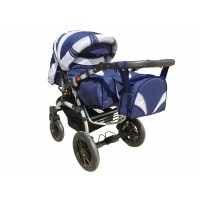 Коляска-трансформер Trans Baby Prado Lux Len Lux 34/16 (Транс Бейбі Прадо Люкс Льон)