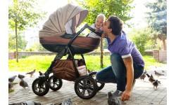 Як вибрати ідеальну коляску для зими!