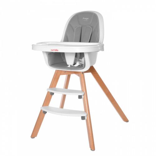Стільчик для годування CARRELLO Prego CRL-9504 Ash Grey (Каррелло Прего)